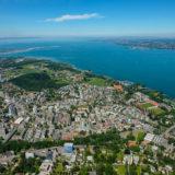 Luftaufnahme Bregenz am Bodensee