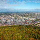 Stuttgart Panorama im Herbst