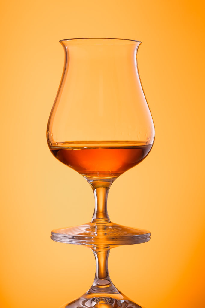 Single Malt Whisky im Glas